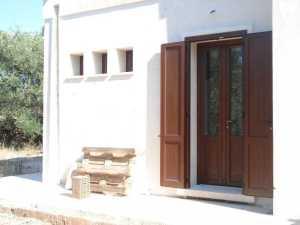 Installazione di infissi in Alluminio/Abs in abitazione privata infissi Lecce e provincia linea Marchese Hp e Granduca Hp