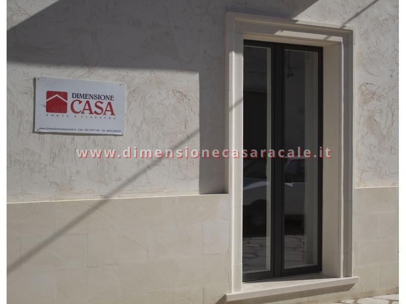 infissi in Legno/Alluminio linea RELUCE a marchio I NOBILI centro storico Racale Lecce 10