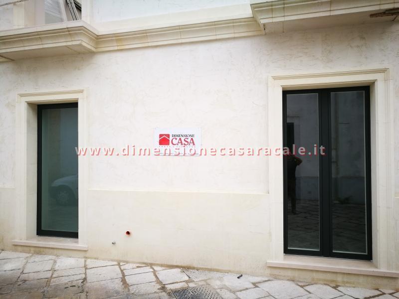 infissi in Legno/Alluminio linea RELUCE a marchio I NOBILI centro storico Racale Lecce 12