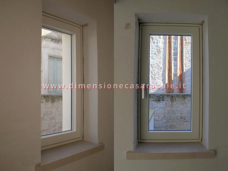 infissi in Legno/Alluminio linea RELUCE a marchio I NOBILI centro storico Racale Lecce 1