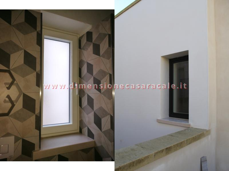 infissi in Legno/Alluminio linea RELUCE a marchio I NOBILI centro storico Racale Lecce 2
