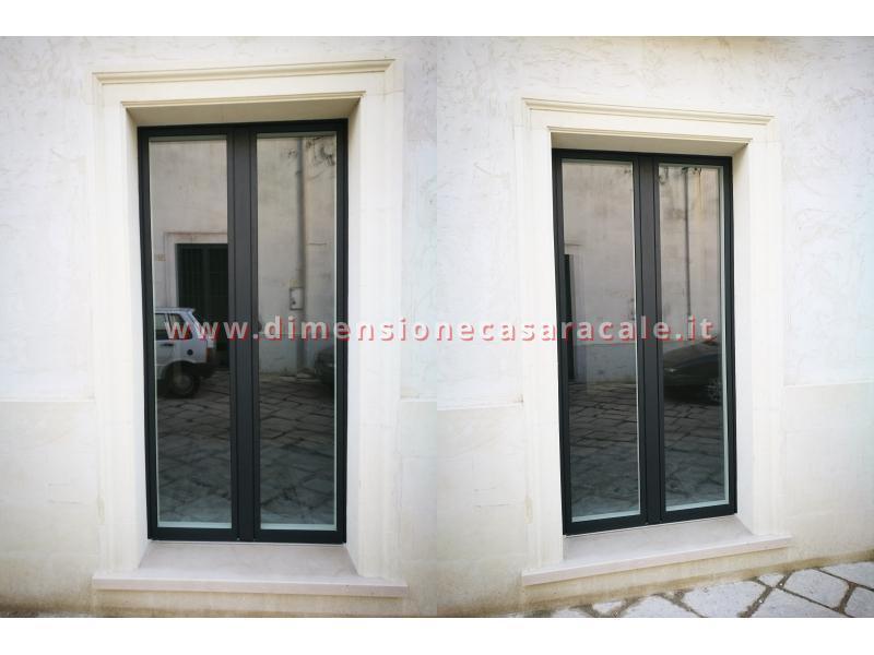infissi in Legno/Alluminio linea RELUCE a marchio I NOBILI centro storico Racale Lecce 4