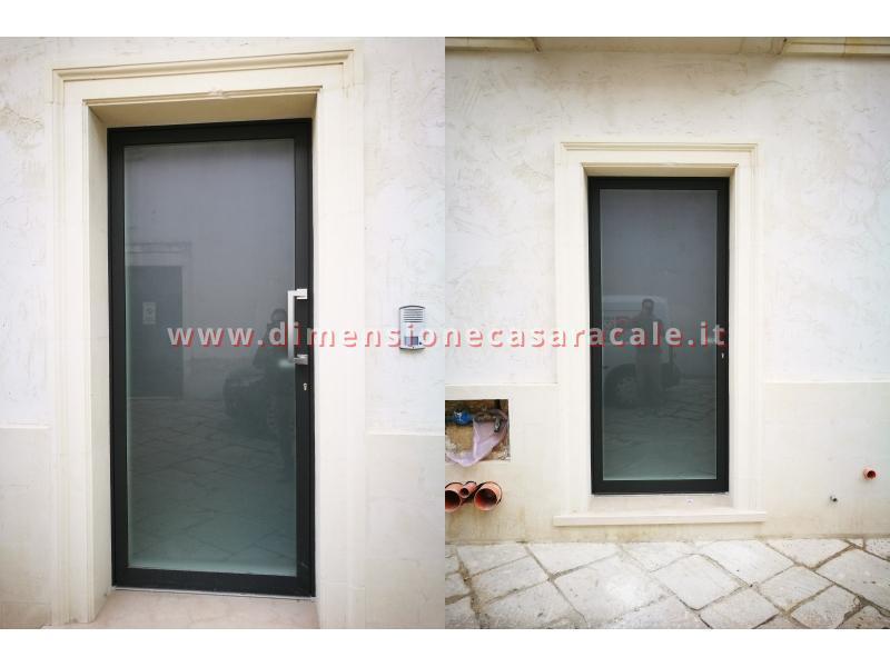 infissi in Legno/Alluminio linea RELUCE a marchio I NOBILI centro storico Racale Lecce 6