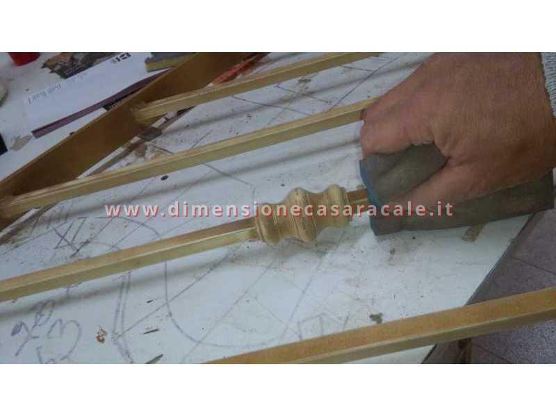 Realizzazione e installazione di passamano in ferro 5