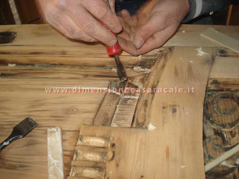 Realizzazioni su misura in legno 1