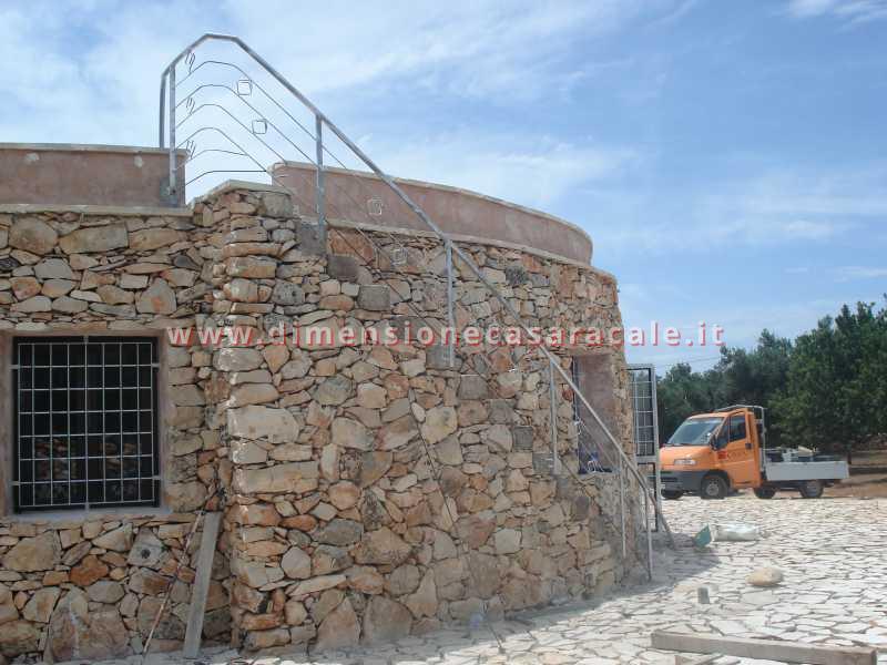 Realizzazione e installazione di ringhiere in ferro 6