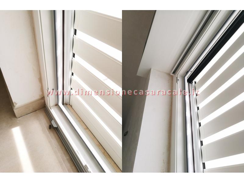Installazioni in Lecce e provincia di tapparelle in alluminio newSolar schermature solari per interni 12